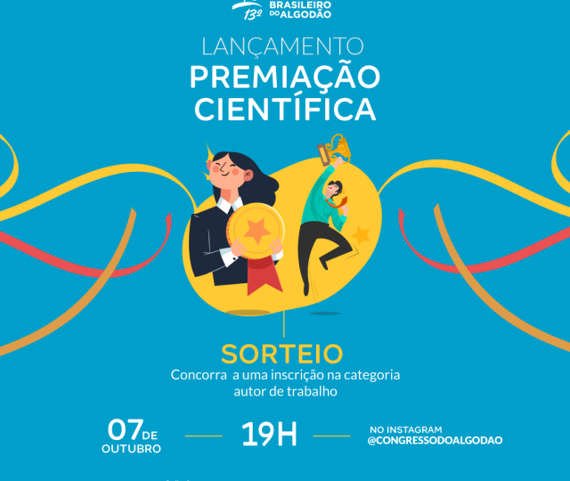 Lançamento da Premiação Científica